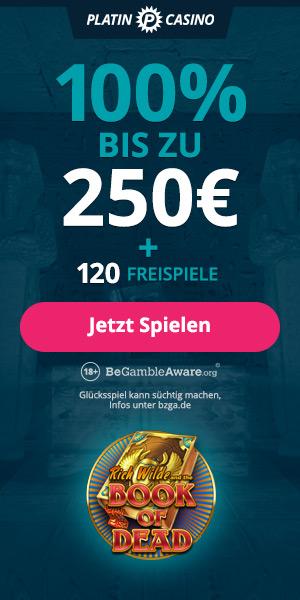 Platin Casino - Bonus